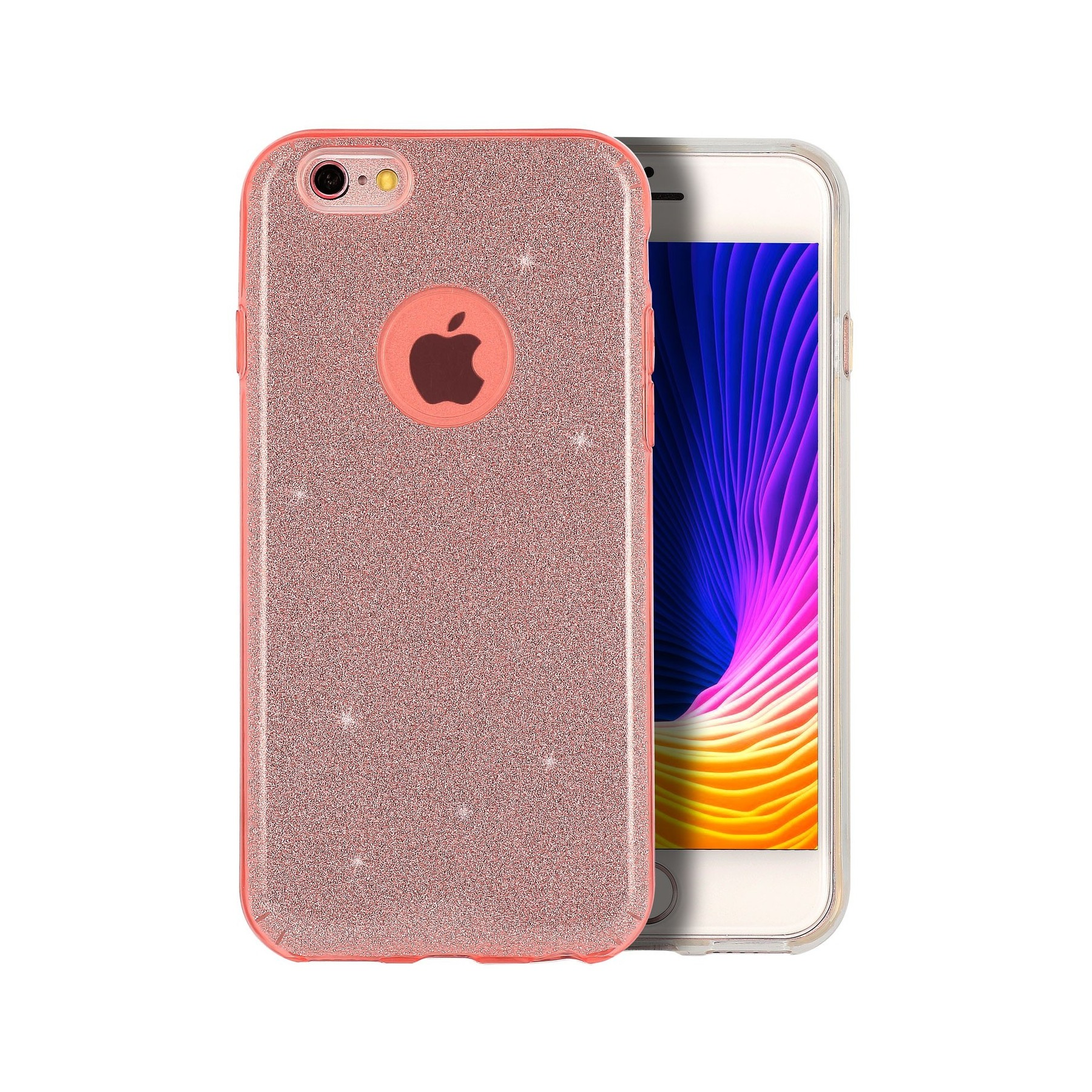 coque strass rose pour apple iphone 6 plus iphone 6s plus