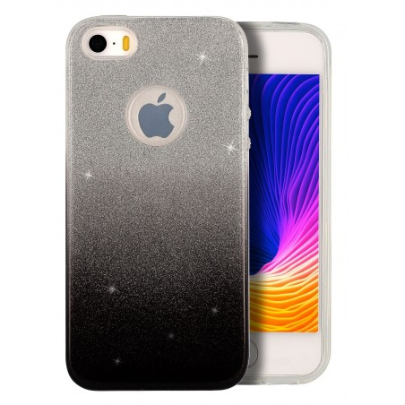Coque Strass degrade noir pour Apple Iphone 5S Iphone SE