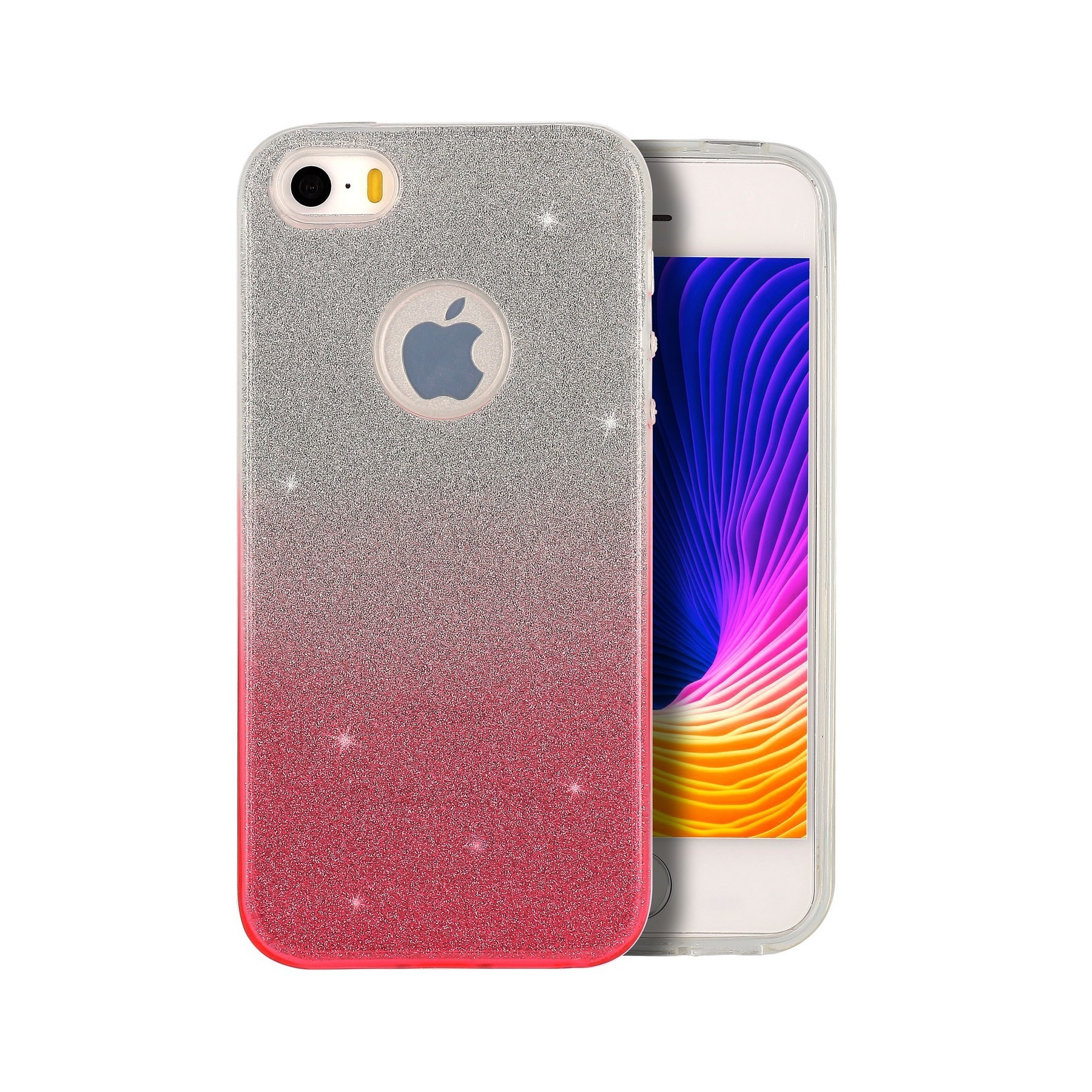 Coque Strass degrade rose pour Apple Iphone 5S Iphone SE