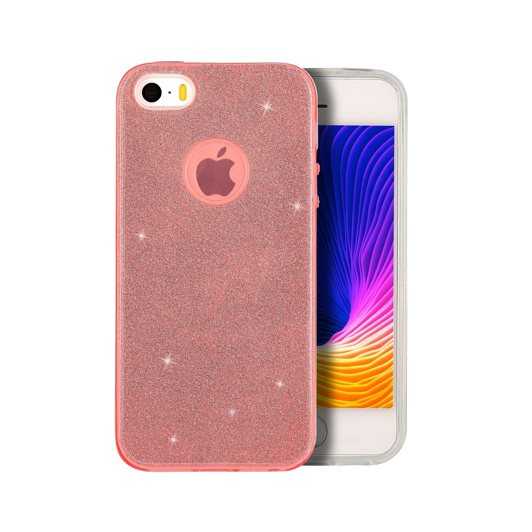 Coque Strass rose pour Apple Iphone 5S Iphone SE