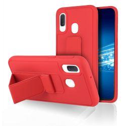 Coque Strap Rouge pour Samsung A40