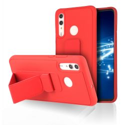 Coque Strap Rouge pour Huawei Psmart 2019