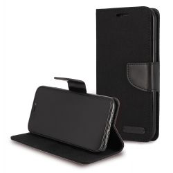 Etui à clapet jeans noir pour Apple Iphone 11 pro