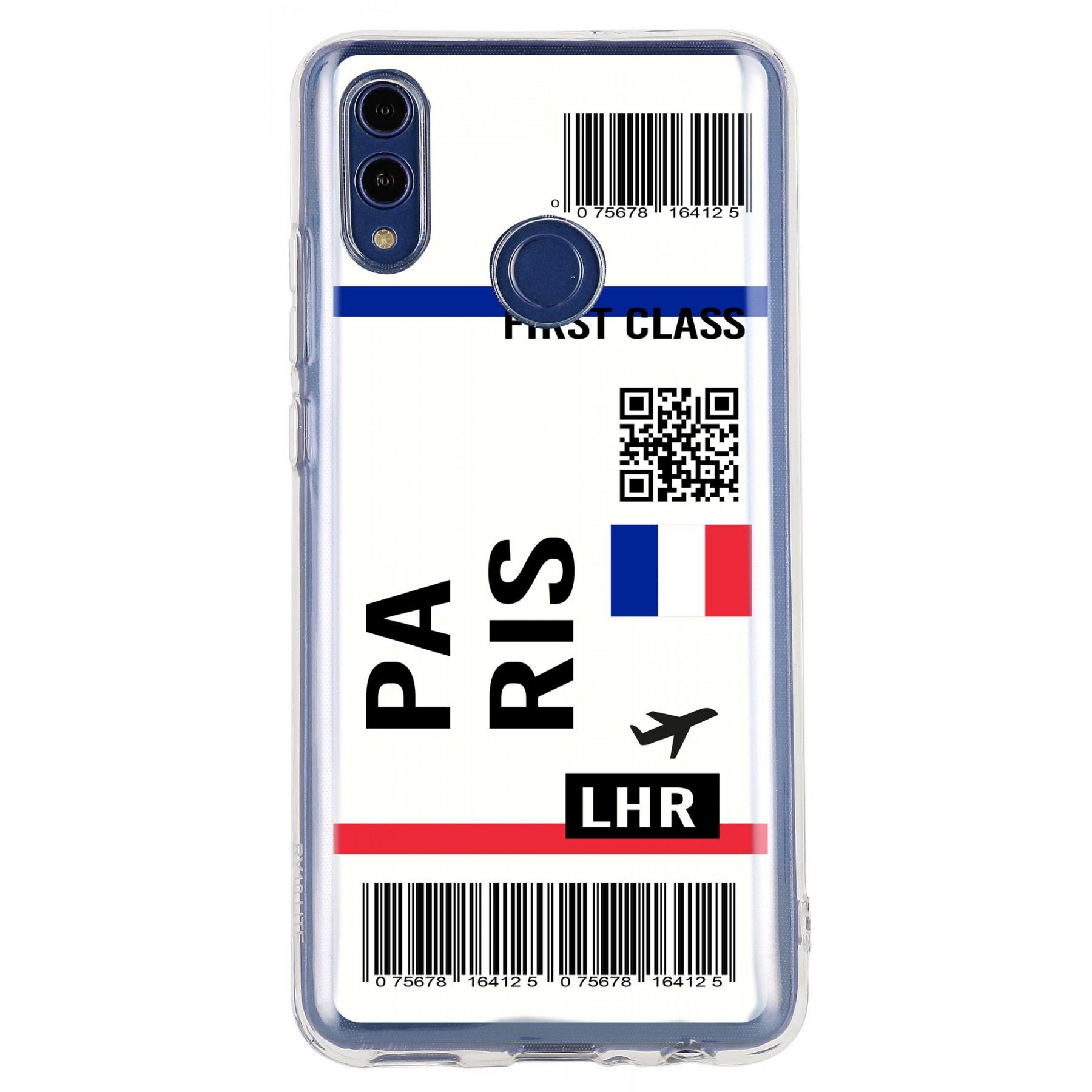 Coque billet avion personnalisable pour Huawei Psmart 2019