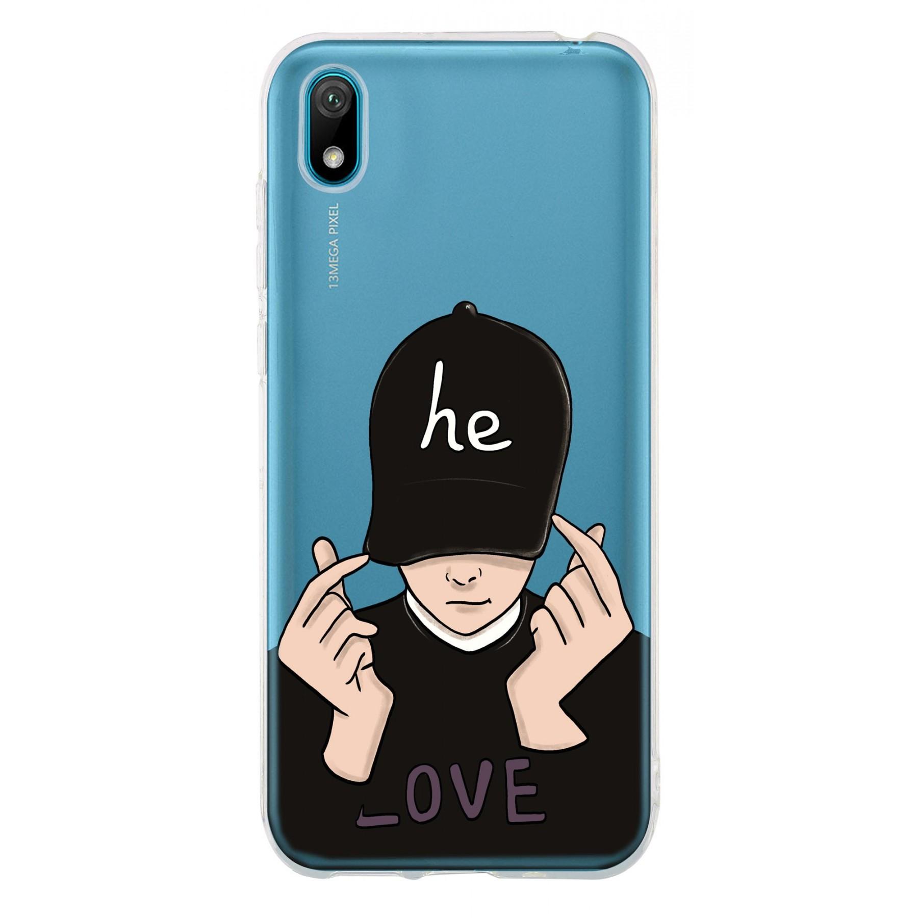 Coque boy casquette personnalisable pour Huawei Y5 2019
