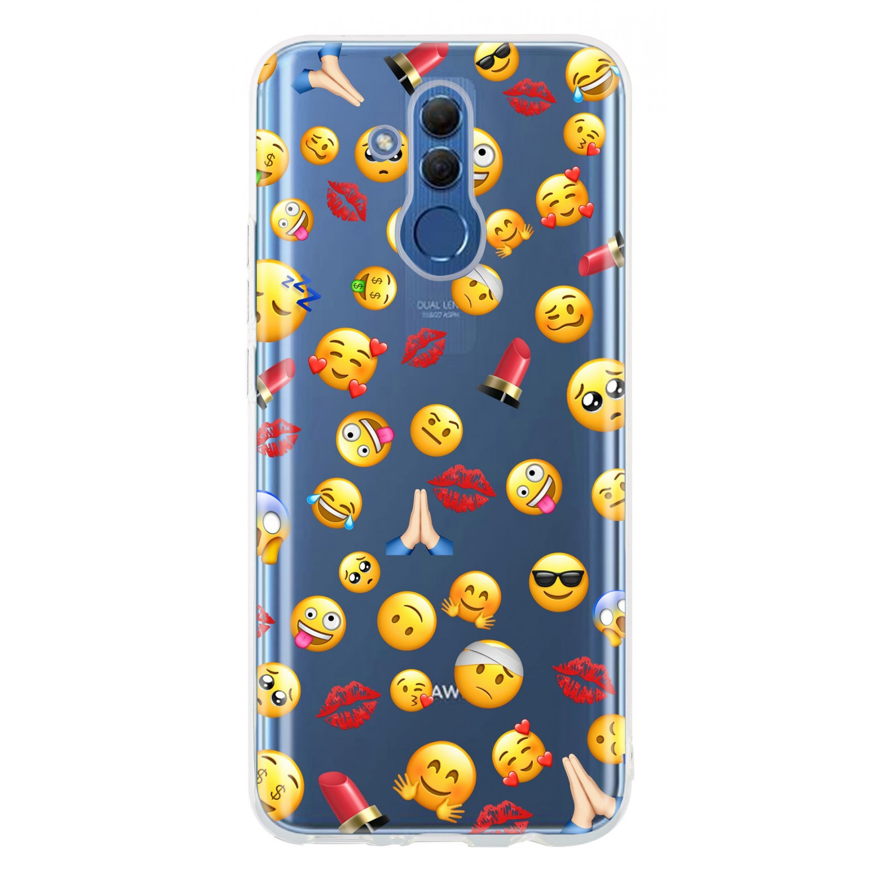 Coque smiley pour Huawei Mate 20 lite