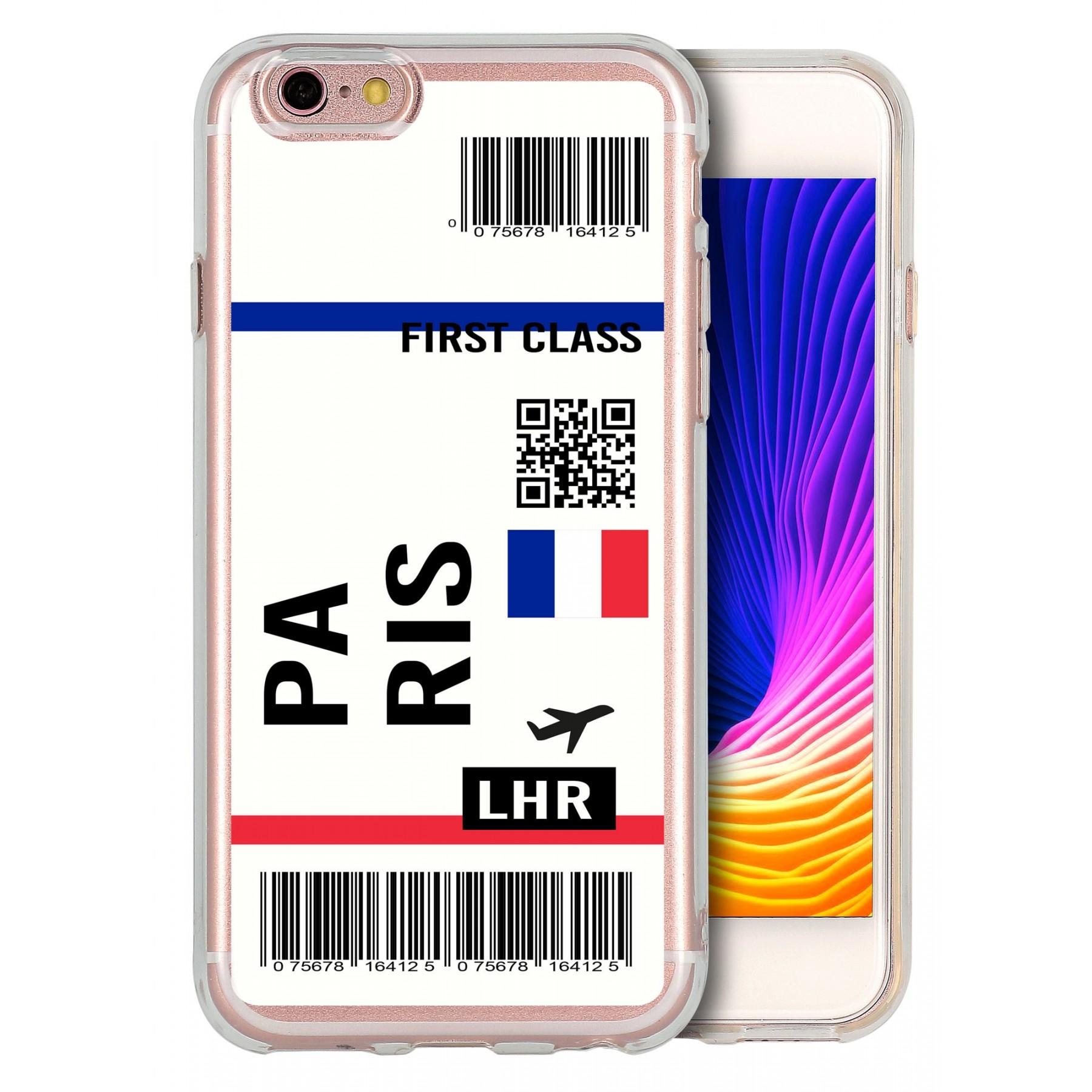 Coque billet avion personnalisable pour Iphone 6 et 6S