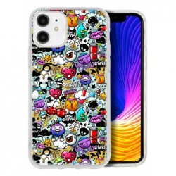 Coque papillons multi...