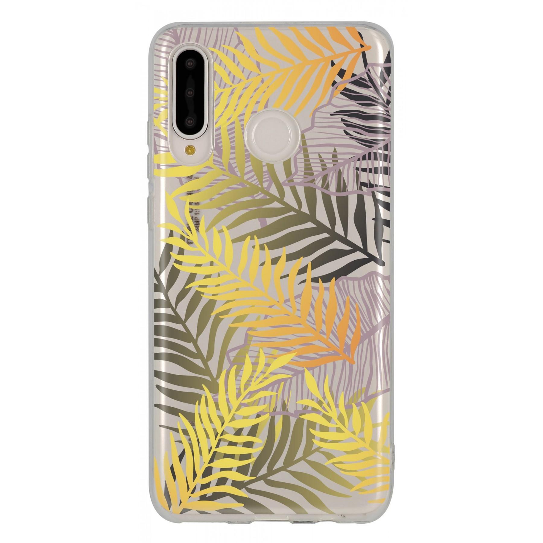 Coque feuille de palmier pour Huawei P30 lite