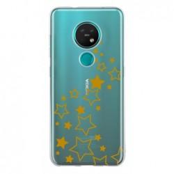 Coque etoile or pour Nokia 7.2