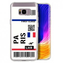 Coque billet avion...