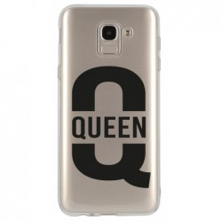 Coque queen pour Samsung A6...