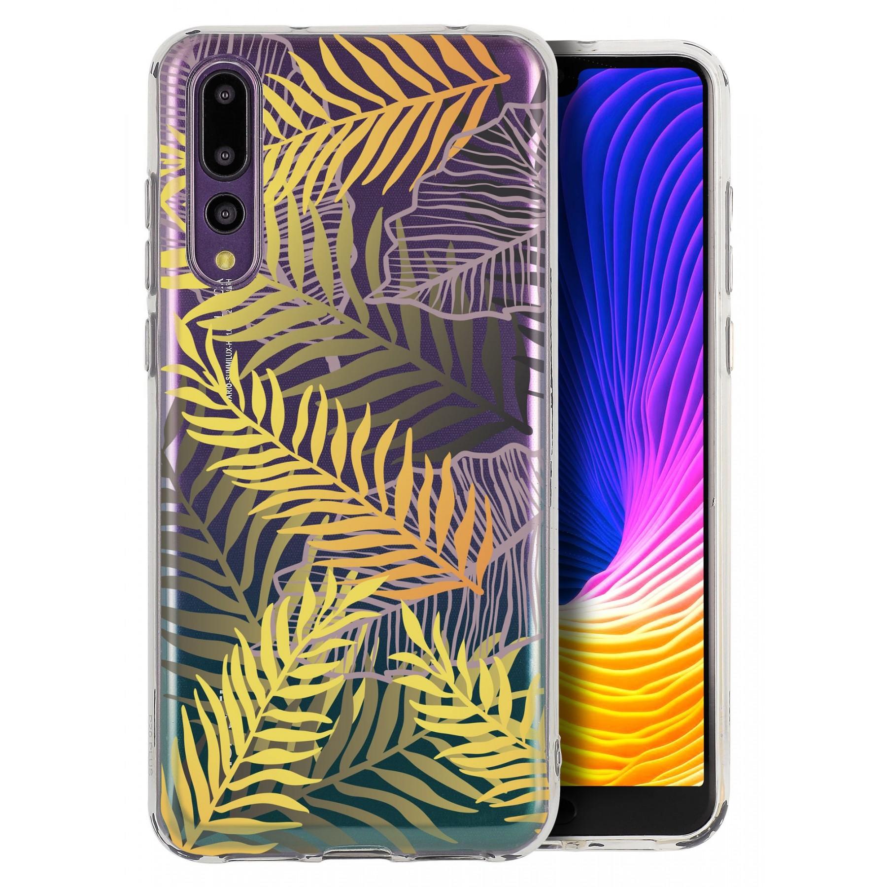 Coque feuille de palmier pour Huawei P20 pro