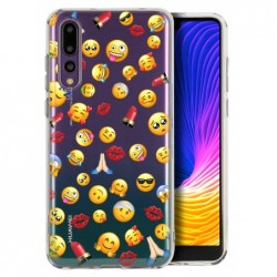 Coque smiley pour Huawei...