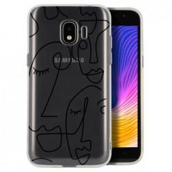 Coque picasso pour Samsung J4