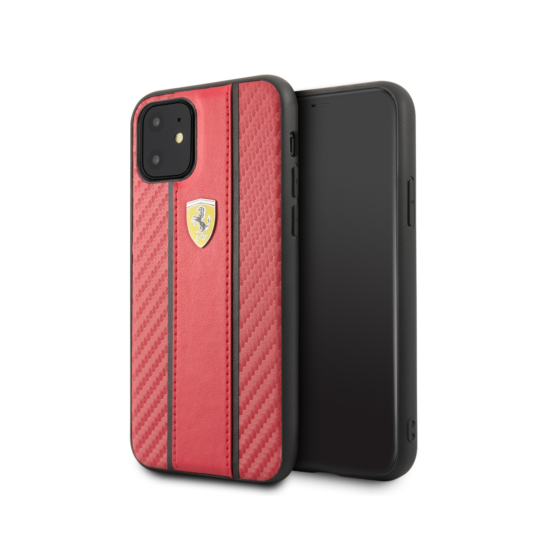 coque ferrari 05 rouge pour apple iphone 11