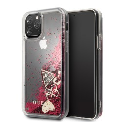 Coque Guess Paillette Rouge...