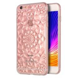 coque cristal cuivre pour iphone 6 plus et 6s plus