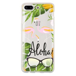 Coque flamant aloha pour...
