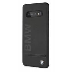 Coque BMW Écriture Noir pour Samsung S10