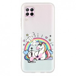 Coque rose lyly pour Huawei...