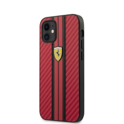 Coque Ferrari Cuir Rouge...